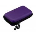"""Funda Disco Duro E-VITTA Carbon Fiber 2.5"""" Purple"""