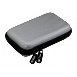 """Funda Disco Duro E-VITTA Carbon Fiber 2.5"""" Silver"""