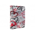 "Funda Tablet E-VITTA 10"" Crazy Hearts Cover Stand"