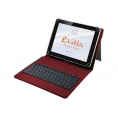 "Funda Tablet E-VITTA 10.1"" + Teclado USB red"