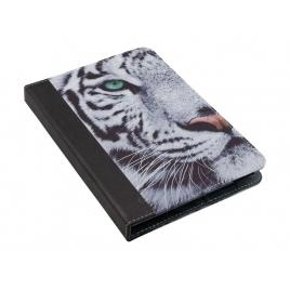Funda Tablet E-VITTA 7'' Stand 2P White Tiger