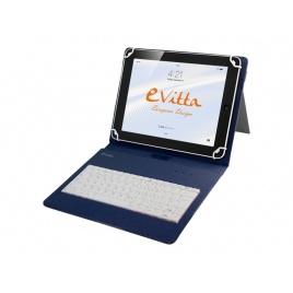 "Funda Tablet E-VITTA 9.7"" - 10.1"" Keytab England + Teclado USB"