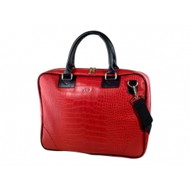 "Maletin Portatil E-VITTA 16"" Business Advance Leather red"