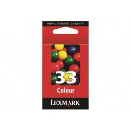 Cartucho Lexmark 33 Color Z815/Z816/X5250/X8350