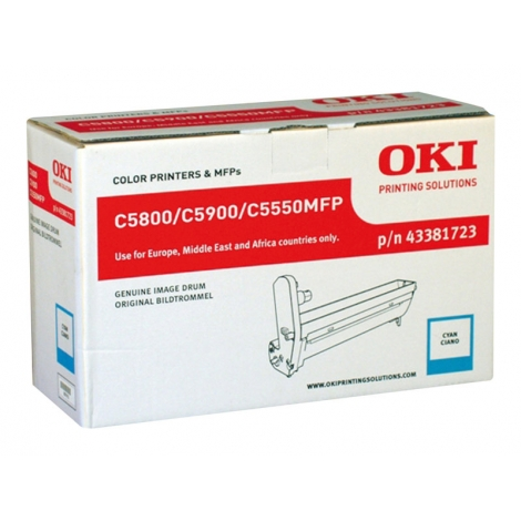 Tambor OKI C5800 C5900 Series Cyan