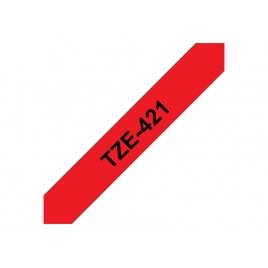 Cinta Brother TZE421 9Mmx8m Red/Black