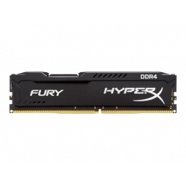 DDR4 16GB BUS 2400 Kingston CL15 Hyperx Fury Black