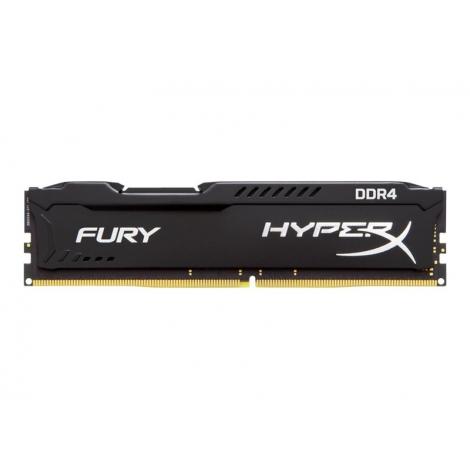 DDR4 16GB BUS 2400 Kingston CL15 Hyperx Fury Black