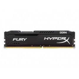 DDR4 4GB BUS 2400 Kingston CL15 Hyperx Fury Black