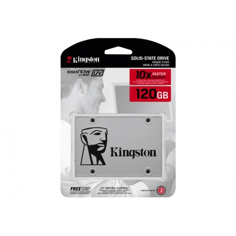 Disco Duro SSD Kingston UV400 120GB Sata6 2.5""
