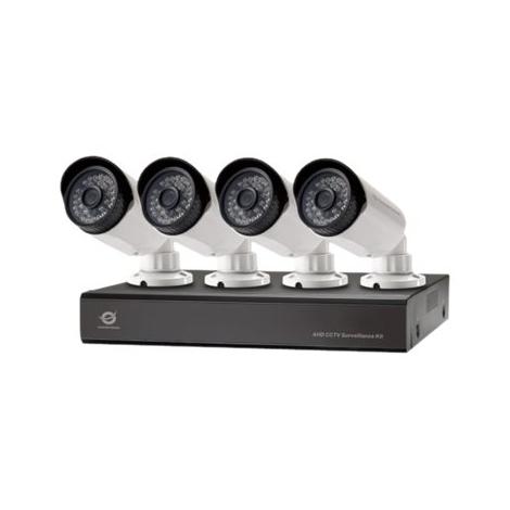 KIT Videovigilancia Conceptronic 4 Camaras Int/Ext+ Grabador 8 Canales 2TB