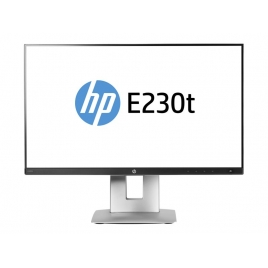 "Monitor Tactil HP 23"" LED Elitedisplay E230T 1920X1080 Piv / Reg HDMI VGA DP"