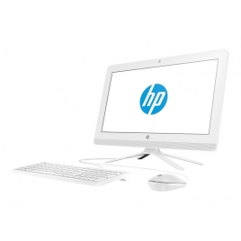 "Ordenador ALL IN ONE HP 20-C000NS AMD E2-7110 4GB 1TB 20"" HD Dvdrw W10 White"