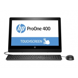 "Ordenador ALL IN ONE HP PRO ONE 400 G3 CI3 7100 4GB 500GB 20"" Dvdrw W10P Black"