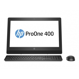 "Ordenador ALL IN ONE HP Proone 400 G3 CI3 7100T 4GB 500GB 20"" HD+ Dvdrw W10P"
