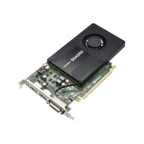 Tarjeta Grafica PCIE Quadro K2200 4GB DDR5 DVI-I 2XDP