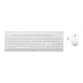 Teclado + Mouse HP Wireless C2710 White