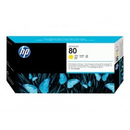 Cabezal HP 80 Yellow Designjet 1050C Plus/1055Cm Plus