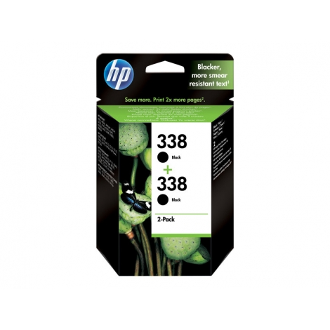 Cartucho HP 338 Black Pack 2U 5740/6520/6540/6840 PSC1510