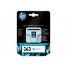 Cartucho HP 363 Cyan Claro Photosmart 3110/3210/3310/D6160/D7160/D7260/D7360/D7460/C5180/C6180