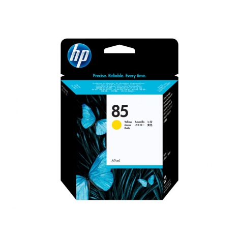 Cartucho HP 85 Yellow Desingnjet 30/30N/30Gp/130/130Np/130Gp