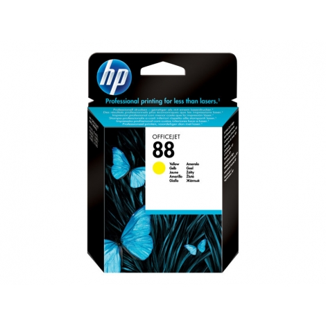Cartucho HP 88 Yellow Officejet PRO K550