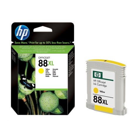 Cartucho HP 88XL Yellow Officejet PRO K550/K5400/K8600/L7480/L7580/L7590/L7680/L7780