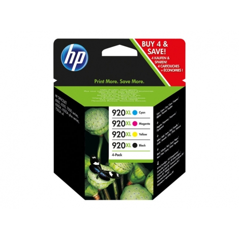 Cartucho HP 920XL Multipack Officejet 6000 6500 7000