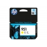 Cartucho HP 951 Yellow Officejet PRO 8100 8600 700 Paginas