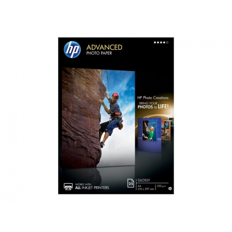 Papel HP Advanced Glossy Photo Paper A4 20H Inkjet