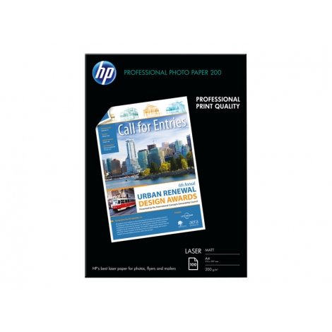 Papel HP Fotografico Mate A4 200GR 100H