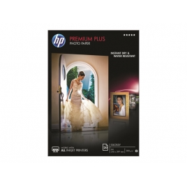 Papel HP Premium Plus Photo Paper Glossy A4 20H