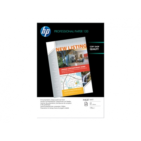 Papel HP Professional A4 120GR 200H