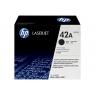 Toner HP 42X Black Gran Capacidad 4250 4350 20000 PAG