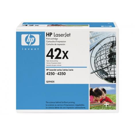 Toner HP 42X Black Gran Capacidad Dualpack 4250 4350 2X 20000 PAG