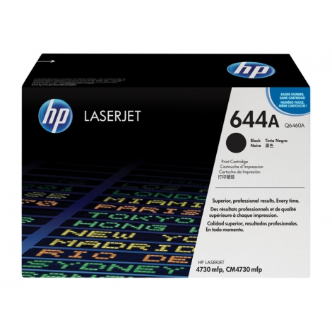 Toner HP 644A Black 4730 12000 PAG