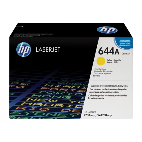 Toner HP 644A Yellow 4730 12000 PAG