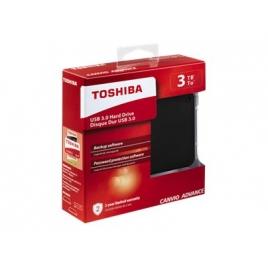 """Disco Duro Toshiba 3TB Canvio Advance USB 3.0 2.5"""" Black"""