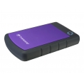 "Disco Duro Transcend 1TB Storejet 25H3 USB 3.0 2.5"" Black/Violet"