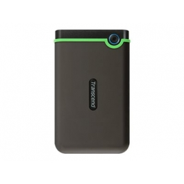 "Disco Duro Transcend 1TB Storejet 25M3S USB 3.1 2.5"" Grey/Green"