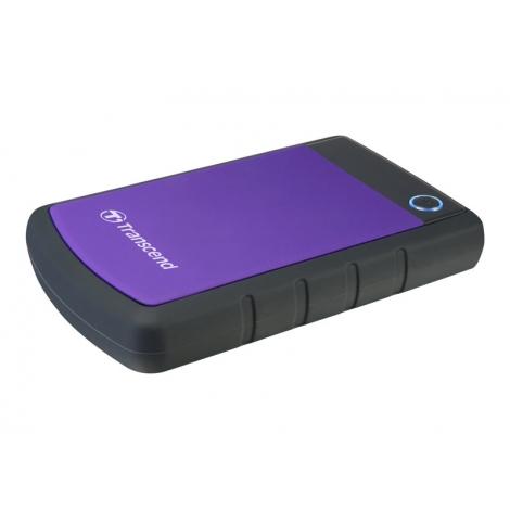 "Disco Duro Transcend 2TB Storejet 25H3 USB 3.0 2.5"" Black/Purple"