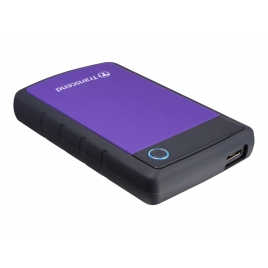 "Disco Duro Transcend 2TB Storejet 25H3 USB 3.0 2.5"" Black/Purple"
