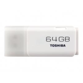 Memoria USB Toshiba 64GB Hayabusa White