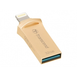 Memoria USB Transcend 32GB Jetdrive GO 500 USB 3.1 Lightning Gold