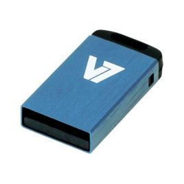 Memoria USB V7 8GB Nano Vu28gcr USB 2.0 Blue