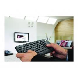 Teclado Trust Wireless Entertainment Compact Black