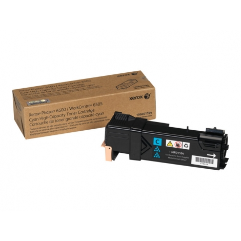Toner Xerox 106R01594 Cyan Gran Capacidad Workcentre 6505 Phaser 6500 2500 PAG