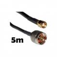 Cable Kablex Coaxial N Macho / Rsma Macho 5M