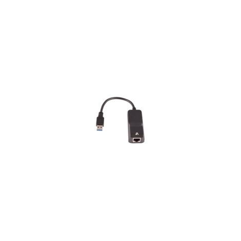 Tarjeta red V7 10/100/1000 USB 3.0 Black