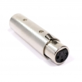 Adaptador Kablex Audio XLR 3 PIN Hembra / XLR 5 PIN Macho